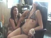 Teens Gone Wild Tied Up Girl Gets Tickled And Her Tits Show Up