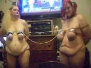 2 big fat butt Slave Girls Want To Fuck Master And Titty Fight It Out