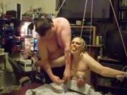 Tied Up bubble butt Milf Slave Gets Spanked By Her Master