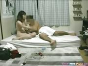 korean Girl Just Home From Work Relaxes With Her BF039s Cock