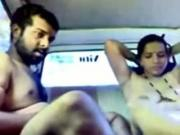 Indian Cab Driver Fucks A Client On The Backseat 2