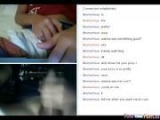 Girl Rubs Her hairy Pussy For A Stranger On Omegle