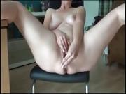 Incredible solo Orgasm housewife Yasmine