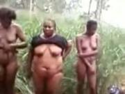 African Military Need To Make Sure That These Girls Aint Smugglers