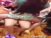 teen chicks giving each other twerk lap dances