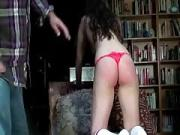 my subs ass bright red from spanking