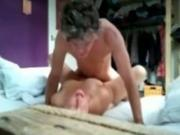 Busty sexy brunette Milf Has 69 And Missionary Sex With Husband