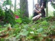 Streetgirl Fucks A Guy In The Forest