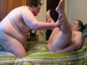 fat sex Couple Makes A exgf Sextape
