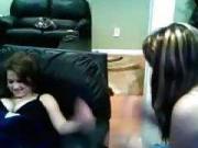 19yo stickam girl ellaaaa8d and her friend flash their huge tits
