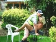 Milf Has A Missionary Quickie On A Table With A Local Regional Worker
