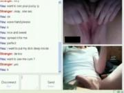 Dude Hunts For Cybersex On Omegle Until He Finds A Horny chunky Girl
