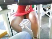 copine a la terrasse du bar