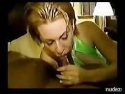 Interracial Cuckold DP Creampie