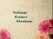 Solange Gomez Abraham