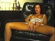 Michelle Raven blows dark oak