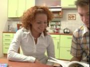 hot barstool anal w russian redhead