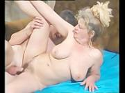Mature lady get young cock
