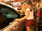 Lynn Pleasant fucked at the garage