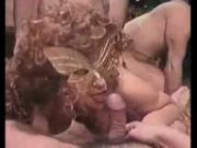 huge gangbang for a mature slut