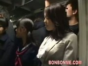 milf and her daughter fucked by geek on bus 02