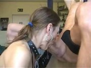 awesome deepthroat and gagging