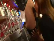 japanese slut seduce a Bartender