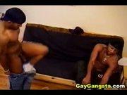 Sizzling Black Gay Anal Pounding
