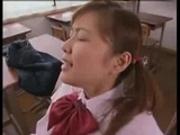School girl Yua Aida fucked in classroom