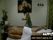 Sweet massage from an Asian girl