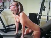 I cum to workout 2