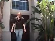 Naughty Rebecca Linares fucks her English tutor