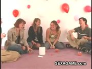College sexgames with shy teens feeling a little awkward