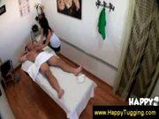 Old man gets a happy ending massage