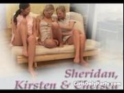 Three sluts having some lesbian fun