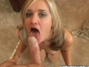 Naughty Blonde MILF On Cam