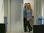 Jill Kelly Elevator hallway fuck