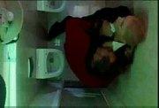 russia blond schoolgirl Anal in mens Toilet