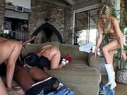 Leah Jaye, Holly, and Sophie Interracial