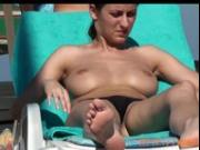 Nude in a public beach last summer, if you enjoy these I havu more