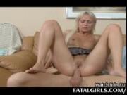 Her boyfriend eats her pussy then stuff her ass