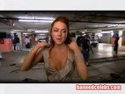Lindsay Lohans Cleavage