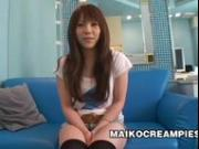 Japanese girl Ai Oosato creampied