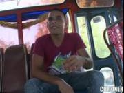 Natasha Latina incredible girl bus riding