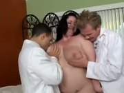 Chubby Threesome Monique L'amour