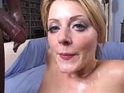 Sophie Dee Interracial Cumshower