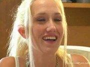 blonde babysitter dped