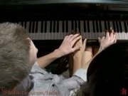 Honey Foxx and the Piano Teacher   Her 8 inch thick cock, plunges into his ass, his throat