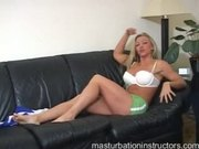Blonde jerk off teacher is wild as she humiliates and teases siss