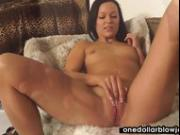 Natali Blue gets facialized with pleasure